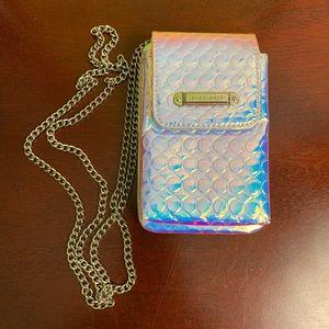 Nine West Mermaid Hologram Clutch with Chain Strap